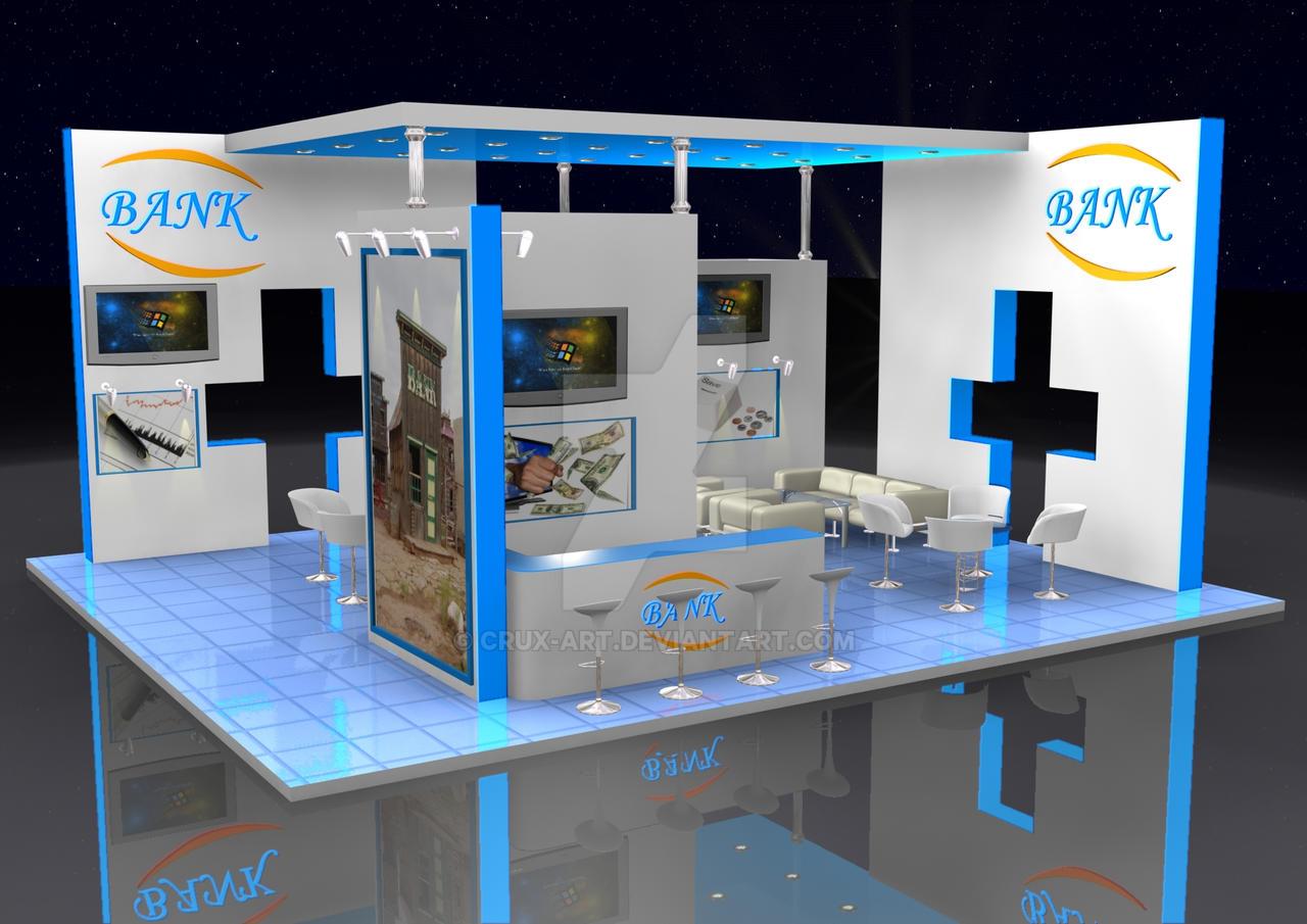 Exhibition Stand Etiquette : Exhibition stand designs by crux art on deviantart