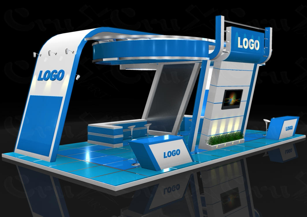 Exhibition Stand Graphics : Exhibition stand designs by crux art on deviantart