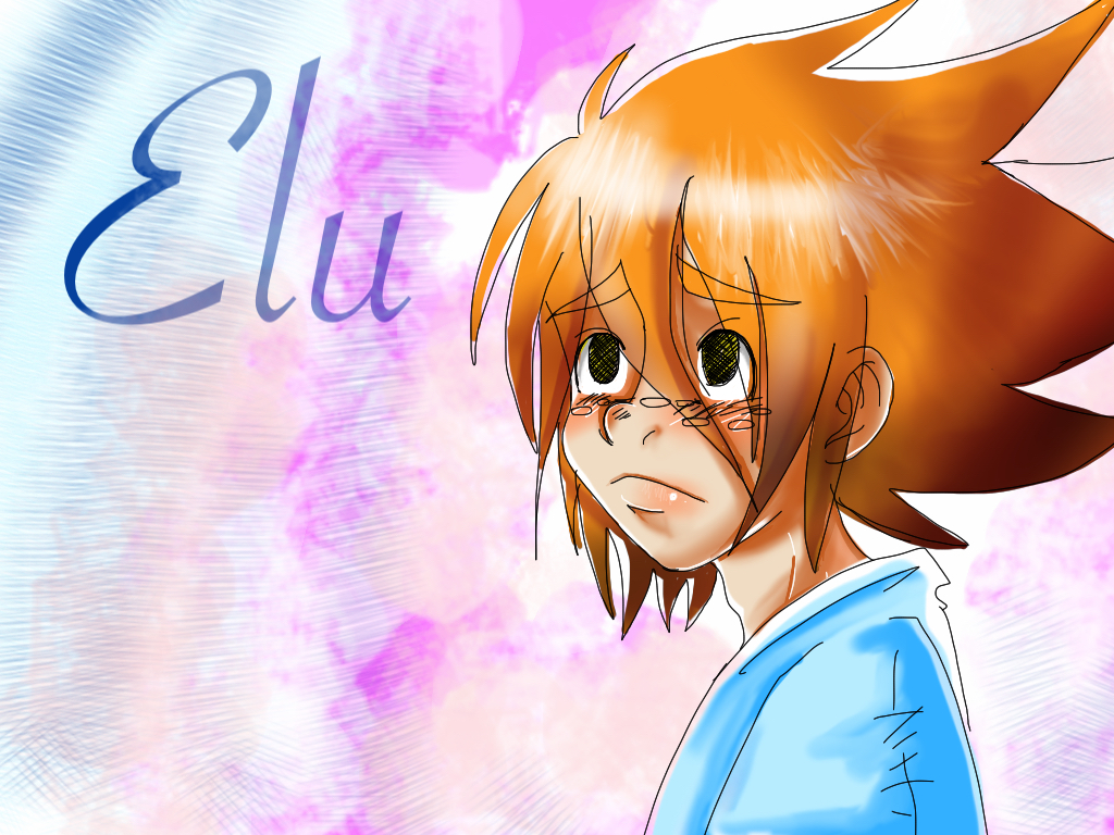 Speeddrawing of Elu by J-C-P