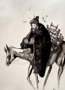 Horseridin' skeleton