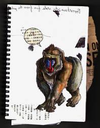 motherflippin' baboon