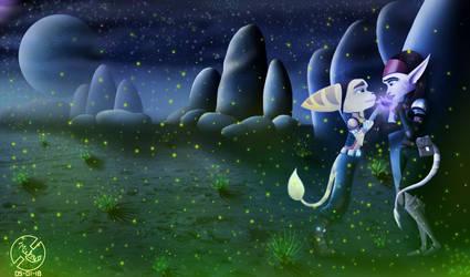 Veldin Fireflies by Michy64