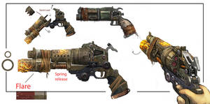 Bulletstorm Weapon Concept art