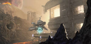 Offworld mining Station