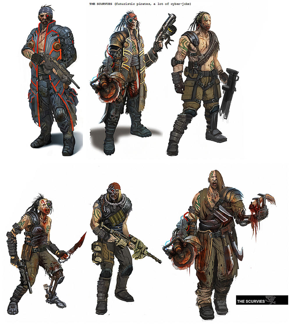 Suggestion New Faction Space Pirates Fan Concepts