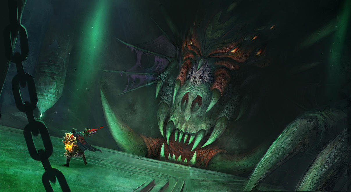 Black Queen Dragon Quest by JohnMcCambridge