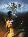 Troie tome 2,  Troy vol 2 Comic book cover.