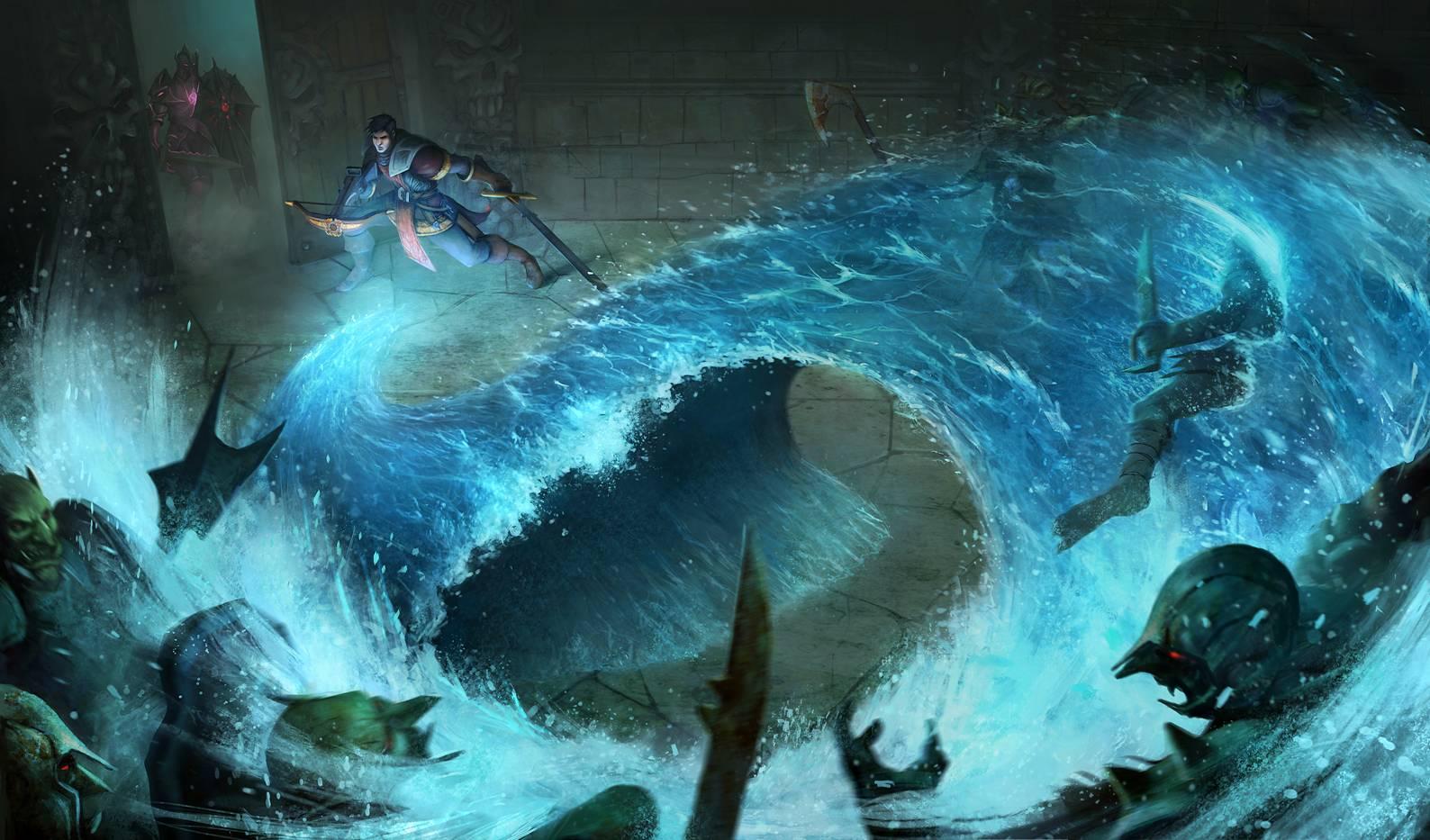 Tsunami by JohnMcCambridge