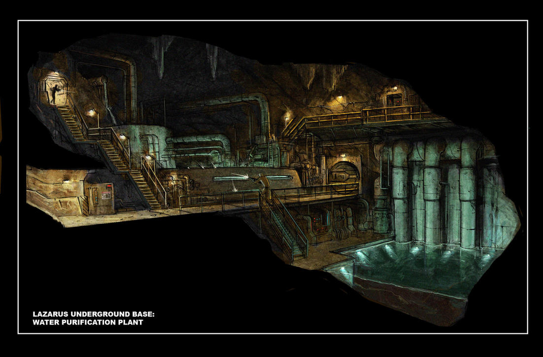 Concept underground purification system by JohnMcCambridge