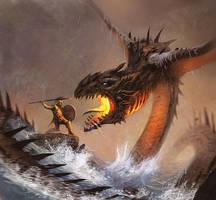 Sea Dragon by JohnMcCambridge