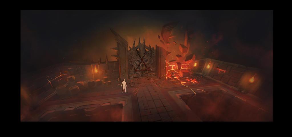 Demon Door Runescape Concept by JohnMcCambridge ... & Demon Door Runescape Concept by JohnMcCambridge on DeviantArt