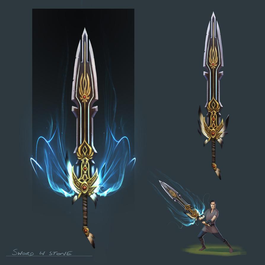 Sword in Stone Runecape by JohnMcCambridge