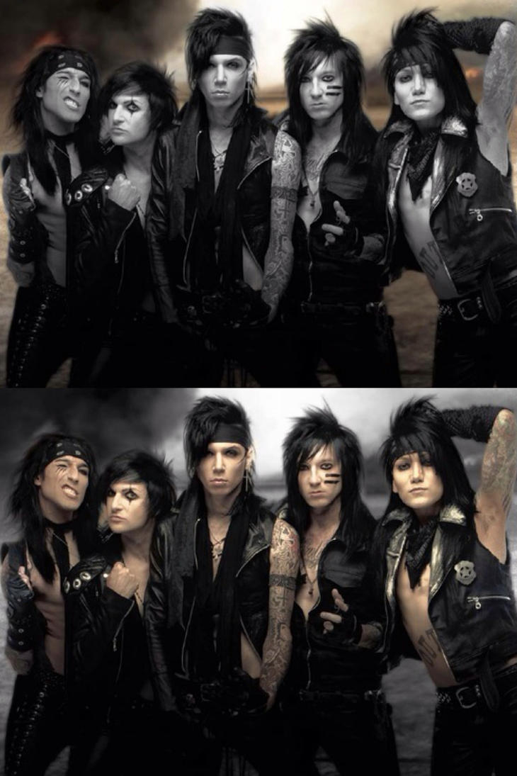 Black Veil Brides favourites by Dark-Macky483 on DeviantArt