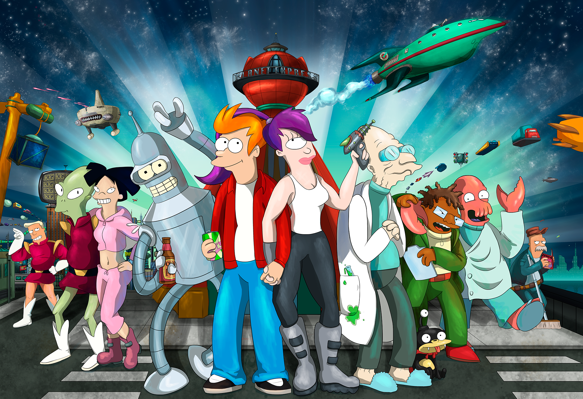 Futurama! by KT-245 on DeviantArt