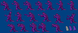 Varan from Monster of Monsters