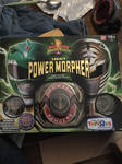 MMPR Legacy Gold Morpher with Ninjetti Falcon Coin