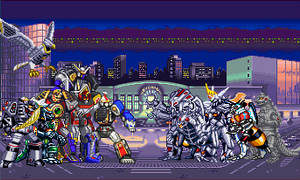 Time Paradox? 2: Giant Robot Battle