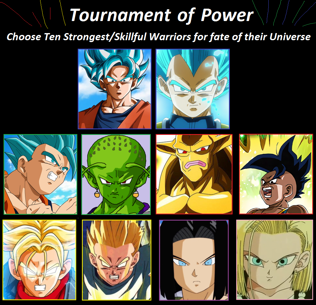 Tournament Of Power: Dragon Ball ST, Universe 7 By
