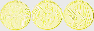 Thunder Zords Coins Preview edit