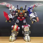 Shura King with Hasbro head and Toyworld Body