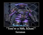 ''You're A Sith Khan!'' Saruman