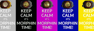 Keep calm, it's Morphin' Time! All Colors!