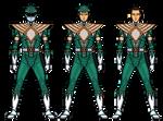 Hybrid Mighty Morphin' Green Ranger