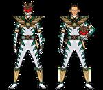 Lord Drakkon Clone With Clone White Dino Gem.