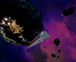 The Resolute II and X-wings in the Delta quadrant