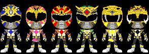Mighty Morphin Omega Thunder