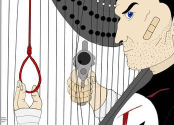 A disturbing Punisher image. by OwossoHarpist