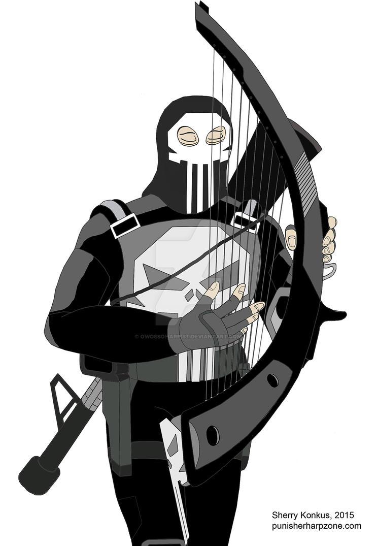 Mitch Gerad's Punisher by OwossoHarpist