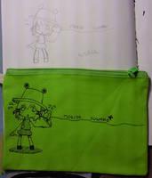 Suwako pencil bag B by Boldblade