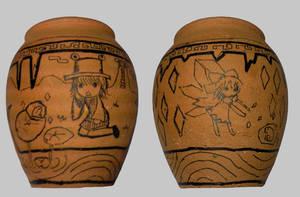 earthen jar suwako by Boldblade