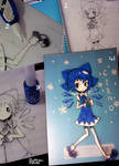 cirno on the cover