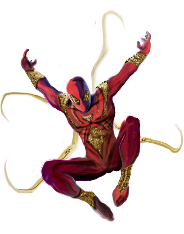 Iron Spider Costume Stark Armor Spidey by ...