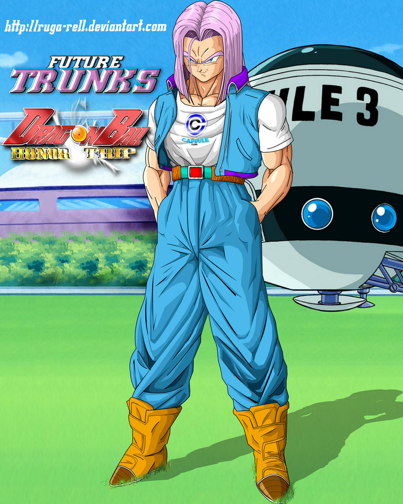 Dbht Future Trunks By Ruga Rell On Deviantart