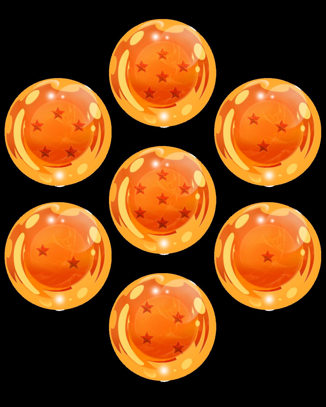 dragon ball z 7 dragon balls png tumblr