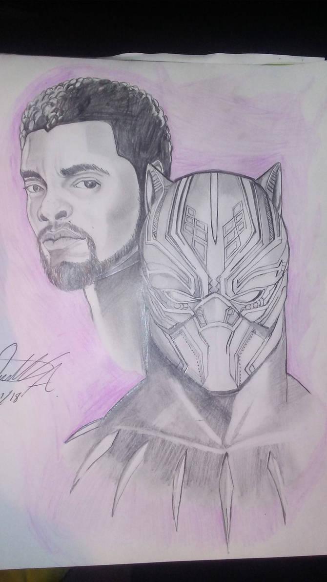 black Panther sketch