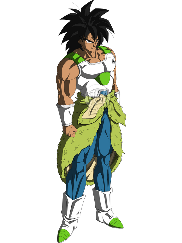 Broly new armor by ruga-rell