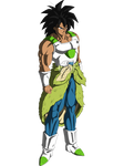 Broly new armor