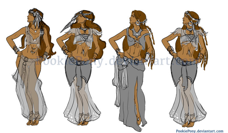 Character Costume Design Tips : Gypsy character clothing ideas by pookiepony on deviantart
