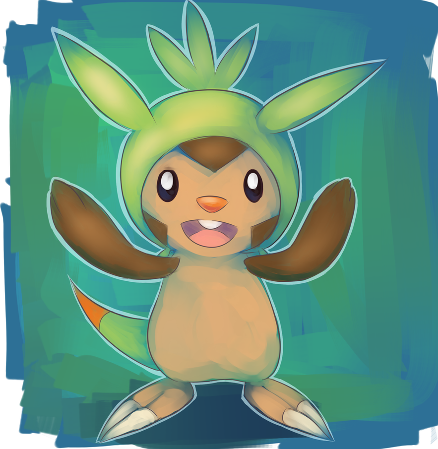 Chespin by Joltik92