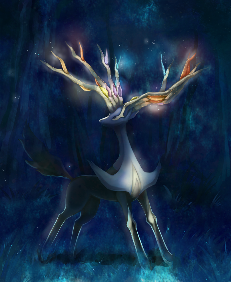 Xerneas by Joltik92