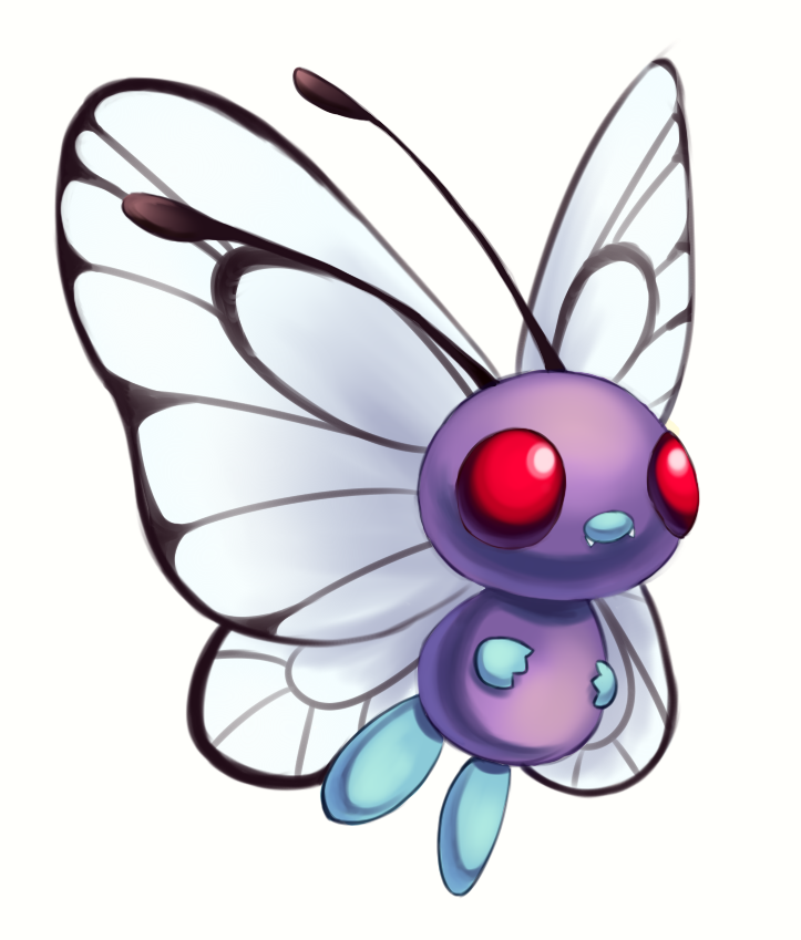 Butterfree By Joltik92 On Deviantart