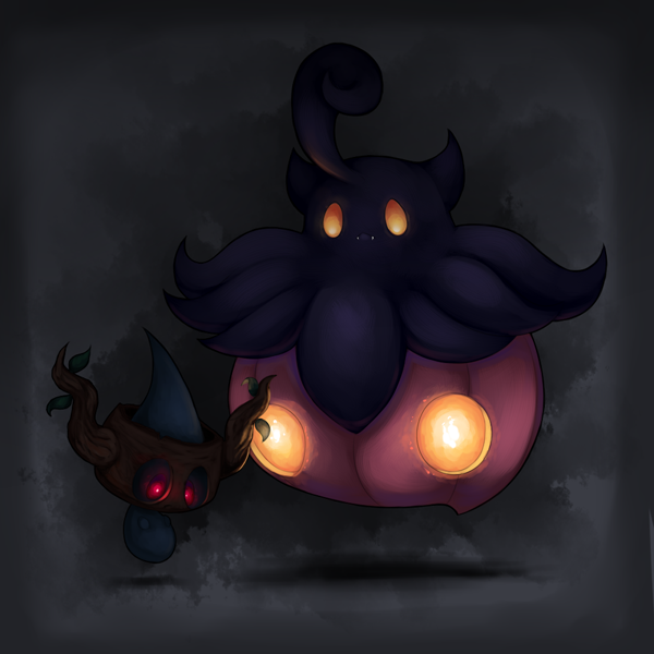Dead children and Pumpkin bats by Joltik92