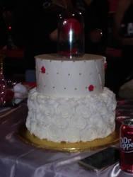 Rose cake by Dj-Gamer