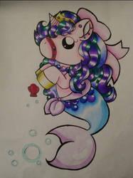 Unicorn mermaid by Dj-Gamer