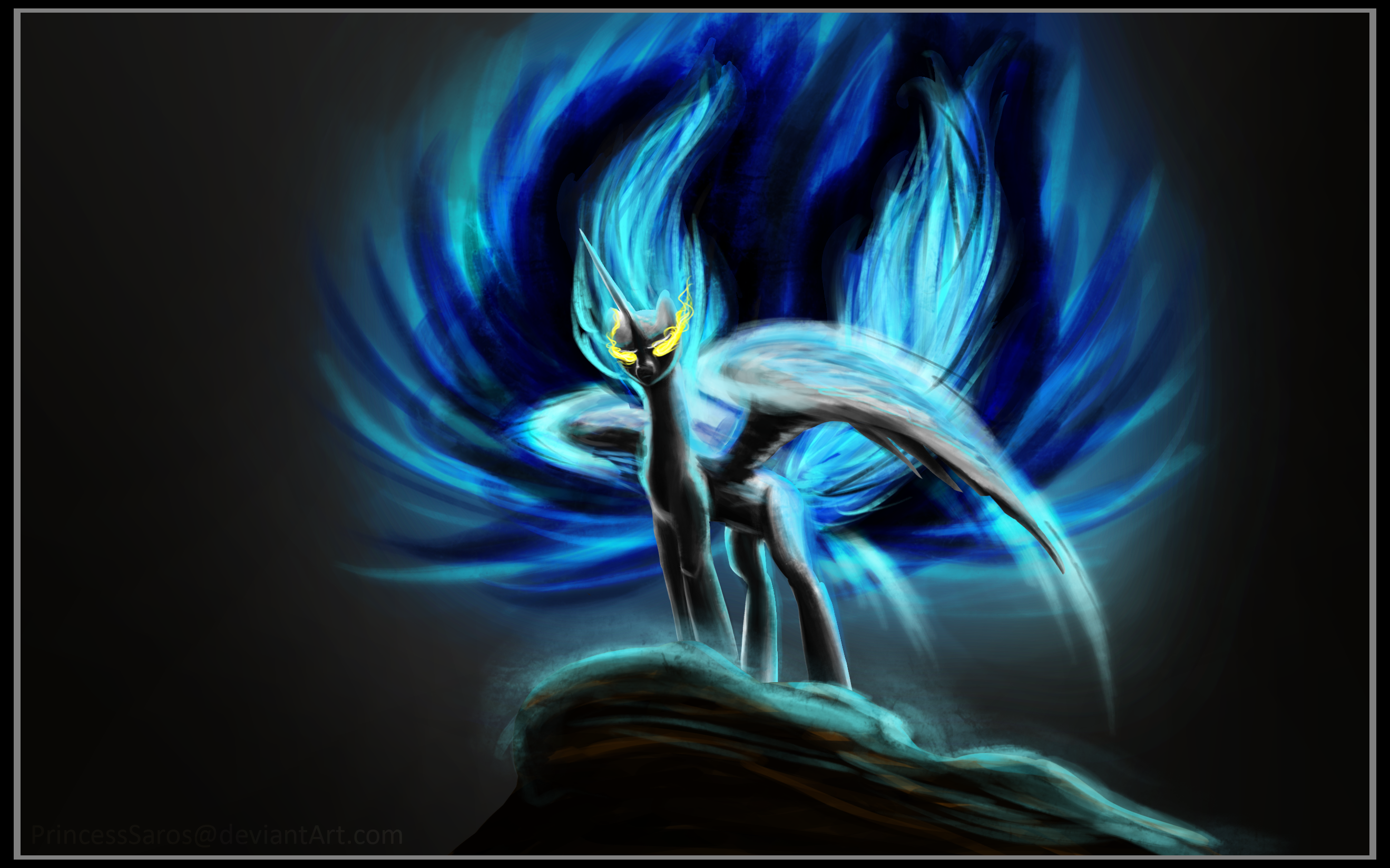 Concept Art - Nightmare Sol by PrincessSaros