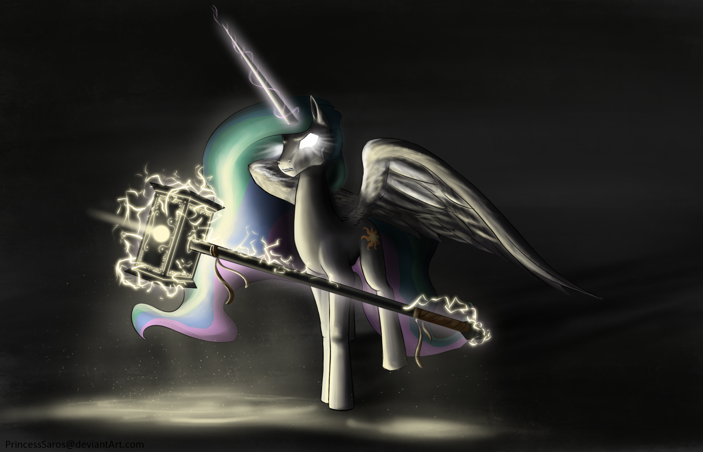 Skoll, The Sun-Ender by PrincessSaros